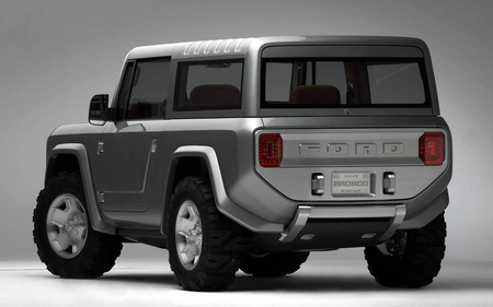Ford Bronco Concept - cars, bronco, concept, ford