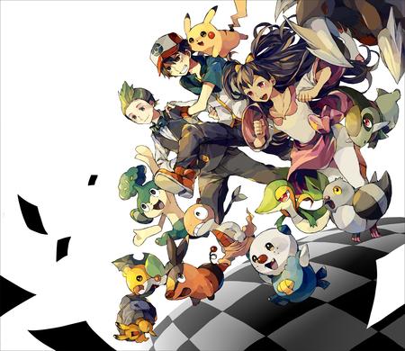 pokemon black and white pokemon anime background wallpapers on