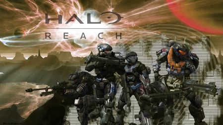 NobleTeam - halo, halo reach, halo 3, halo odst