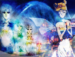Neo Queen Serenity and Eternal Sailor Senshi