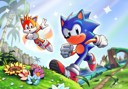 Best Friends for Life - sonic, pictures of sonic, tails, pictures of tails