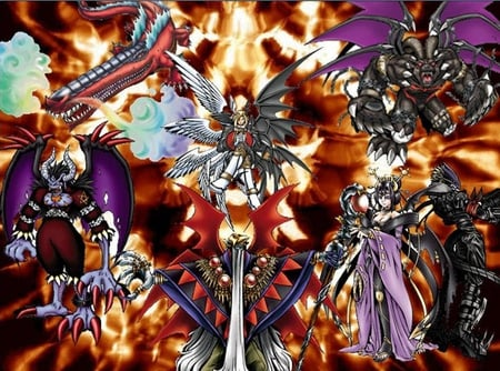 seven great demon lord...