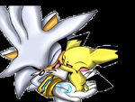 silver and pichu