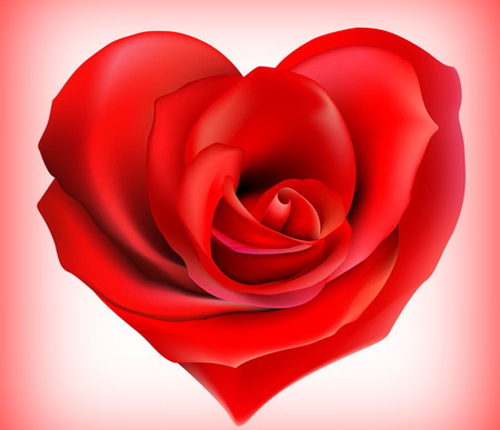 Love Rose 3d And Cg Abstract Background Wallpapers On Desktop