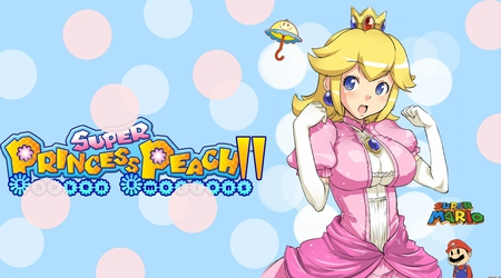 Super Princess Peach2! - super princess peach, mario, anime, bubbles, video games, perry, peach