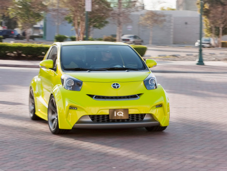 Scion Iq Concept 2009 Scion Cars Background Wallpapers On