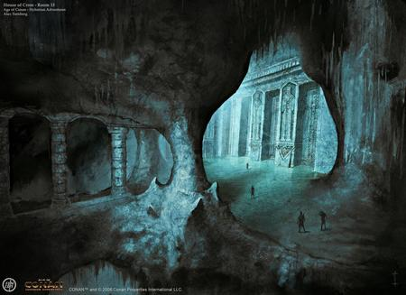 House of Crom - Artwork - art, age of conan, dungeon, game, artwork, rpg, dual monitor, concept, xxl, dark age, dual screen, conan
