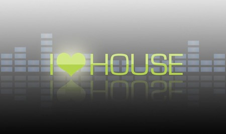 I Love House Music Entertainment Background Wallpapers
