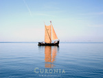 Historic boat in Curonia