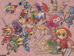 The many personality's of Toon Link