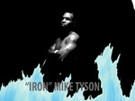 Tyson in blue fire