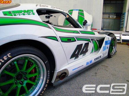 Green/White 44 Viper - ecs, vir, dodge, viper