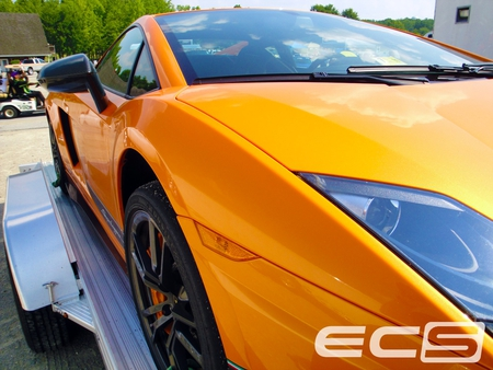 Lamborghini Front Side - ecs, vir, orange, superleggera, lamborghini, lambo