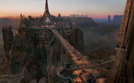 Scene From John Carter - movie, carter, john, sci-fi