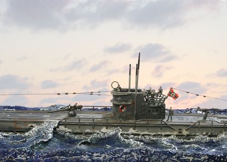 u-boat test - art, military, u-boat, ww2