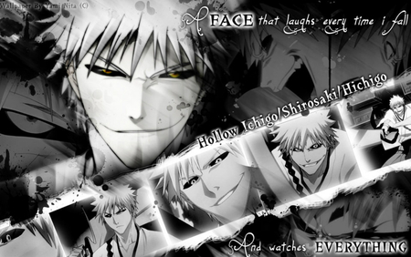 Hichigo Shirosaki - bleach, hichigo shirosaki, inner hollow, vasto lordes