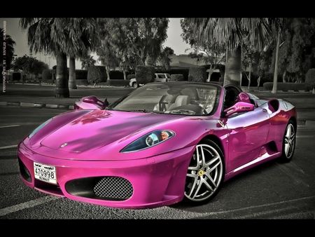 pink ferrari ferrari amp cars background wallpapers on