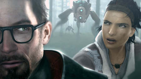 Half Life - video game, sci-fi, game, nice, half life, freeman, life, video, gordon, cool, half, alex, future, awesome, robots, pc
