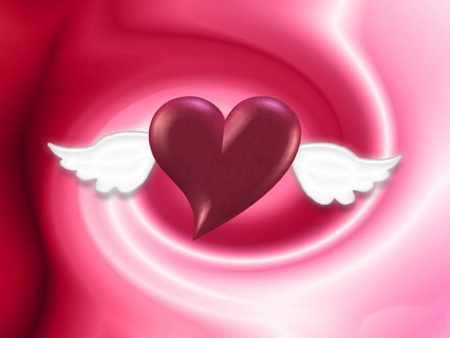 Alas De Amor Y Corazon People Space Background Wallpapers On
