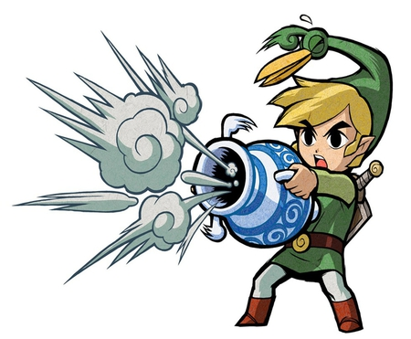 We can defeat it with this! - toon link, windwaker, ezlo, wind, zelda, gust, jar, video games