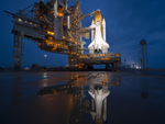 STS-135 Atlantis Shuttle on pad 39A 07.08.11