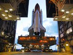 STS-120 Discovery on 39A by VAB