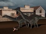 Wild wild west Dinos I