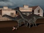 Wild wild west Dinos 2