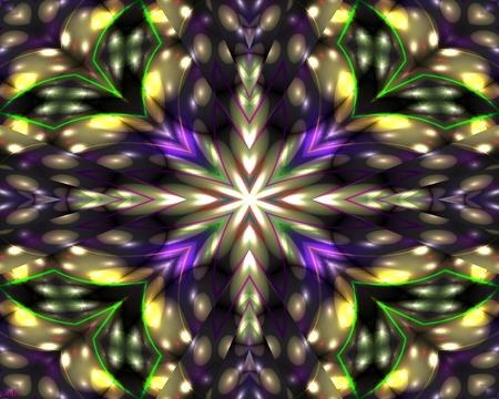 Strobe lights - stars, abstract, light, lights