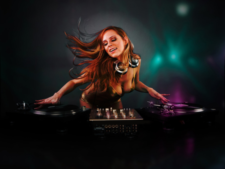 The Cool Dj Music Entertainment Background Wallpapers On Desktop
