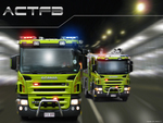 A.C.T. Fire Brigade Scania P310 Pumpers