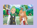 Cilan, Topaz and bulbasaur