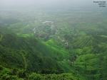 View from Purandar Fort
