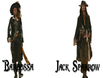 Pirates of the Caribbean Google Background Barbossa and Jack