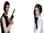 Star Wars Google Background Original Trilogy Han Solo and Princess Leia