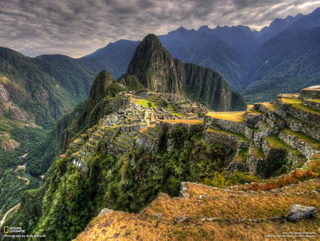 The Land Of The Incas - old city, plateau, incas, mountains