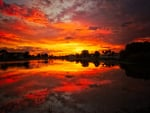 Fiery Reflections