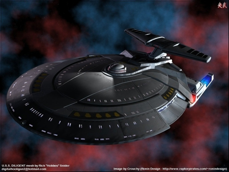 uss ronin - scifi, star trek, aliens, starship