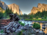 Beautiful Yosemite HDR