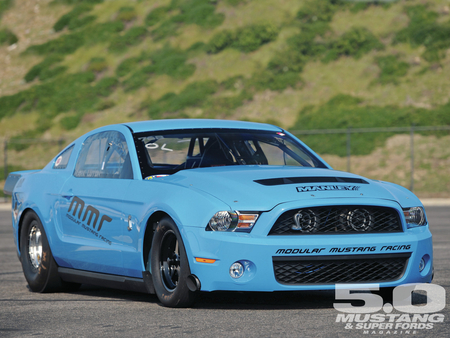 Blue-Fame - mustang, racer, ford, gt 500