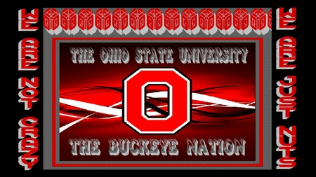 WE ARE JUST NUTS - ohio, state, buckeye, nation