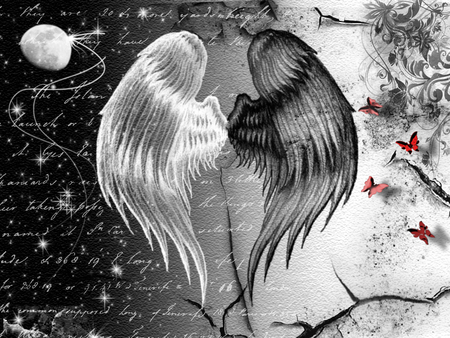 angels and demons - Fantasy & Abstract Background ...