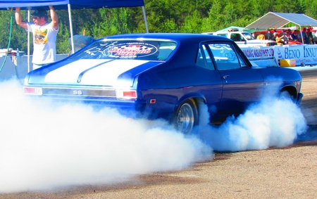 1969 Chevrolet Nova SS - race, super sport, drag car, chevy, drag race, 1969, chevrolet, classic, muscle car, nova