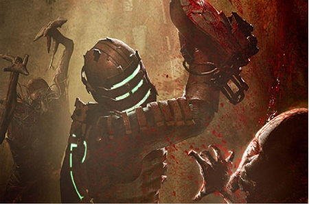 Isaak - zombies, evil, isaak, dead space