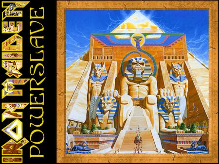 Iron Maiden - Powerslave - Music & Entertainment Background ...