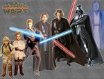 Star Wars-Anakin evolution