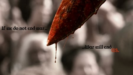 War Will End? - photography, war, bloody, dark, blood, manipulation