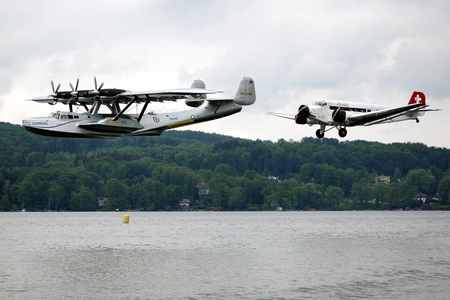 Classic German Flight - german, ju-52, dornier, junker, ju52, lake, do-24, do24