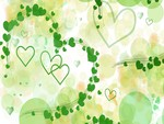 Green Hearts and Circles
