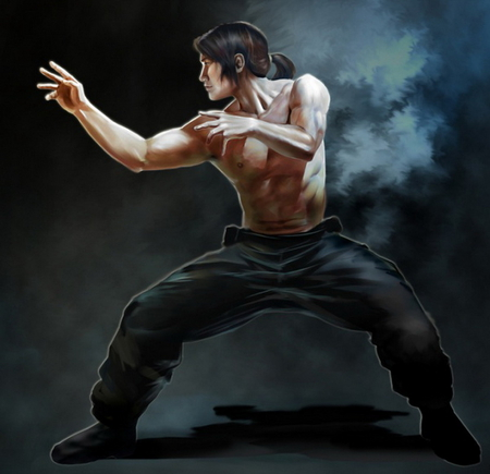 Ninja Fantasy Abstract Background Wallpapers On Desktop